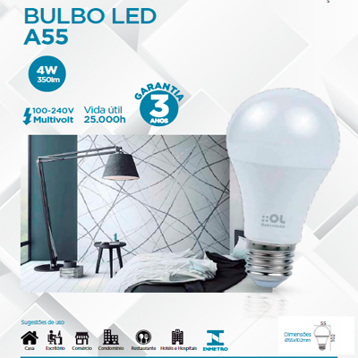 Foto do Produto BULBO LED