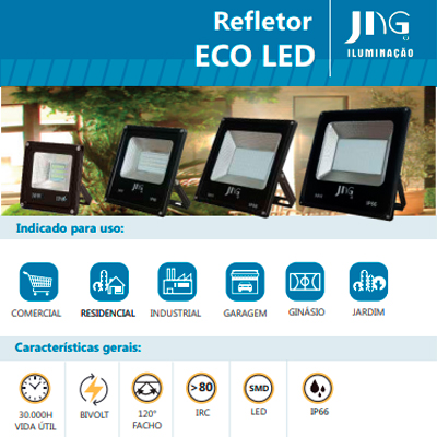 Foto do Produto Refletor Led ECO